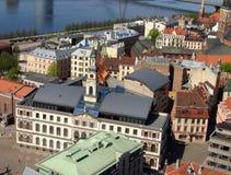 Hôtel de ville de Riga photos stock