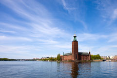 Hôtel de ville de Stockholm Photo stock