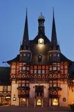 Hôtel de ville de Wernigerode photo libre de droits