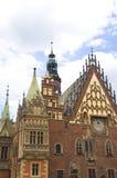 Hôtel de ville de Wroclaw Images libres de droits