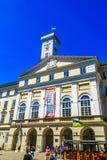 Hôtel de ville 02 de Lviv image libre de droits