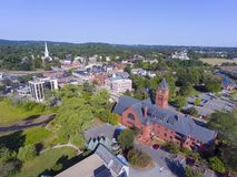 Hôtel de ville, mA, Etats-Unis Winchester photographie stock