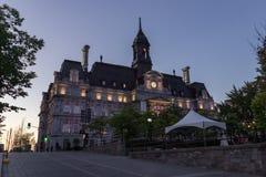 Hôtel de Ville de Montréal Canada photos libres de droits