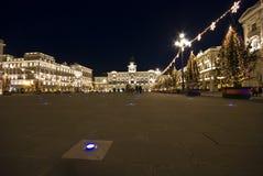Hôtel de ville Noël Photos stock