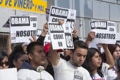 Hôtel de ville Obama Images stock