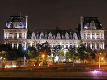 Hôtel de Ville, Paris Photo stock