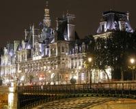 Hôtel de Ville, Paris Photos libres de droits
