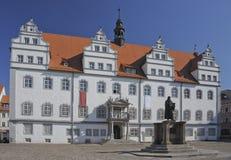 Hôtel de ville Wittenberg Photographie stock libre de droits