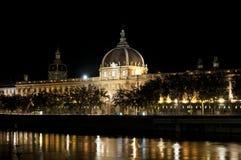 Hôtel Dieu à Lyon Photo libre de droits