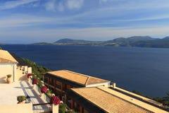 Hôtel en Grèce Image libre de droits
