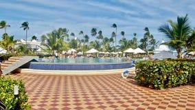 Hôtel en République Dominicaine  Photos stock
