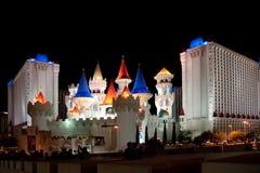 Hôtel et casino d'Excalibur Photos libres de droits