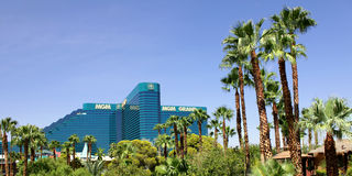 Hôtel et casino de Mgm Grand Images libres de droits