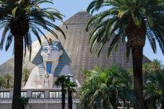 Hôtel et casino Las Vegas de Luxor Image stock
