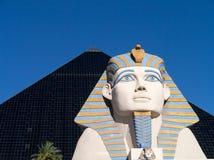 Hôtel et casino Las Vegas de Luxor Images stock