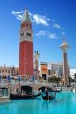 Hôtel et casino vénitiens, Las Vegas. photos stock
