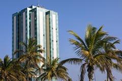 Hôtel et station thermale de mamie d'Arrecife à Lanzarote Photo stock