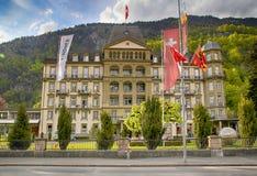 Hôtel grand Beau Rivage de Lindner dans un emplacement principal dans le centr Image libre de droits