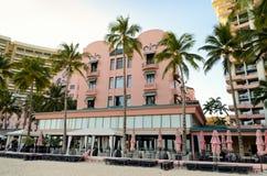 Hôtel hawaïen royal Images libres de droits