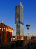 Hôtel Hilton Manchester, R-U image libre de droits
