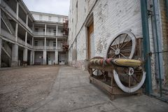 Hôtel historique de cintreuse à Laredo le Texas photographie stock