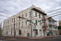 Hôtel historique de cintreuse à Laredo le Texas photographie stock libre de droits