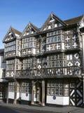 Hôtel historique de Tudor, Angleterre image libre de droits