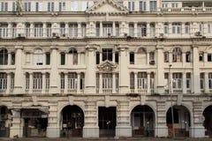 Hôtel oriental grand, bâtiment colonial de luxe à la rue de York à Colombo, Sri Lanka Images libres de droits