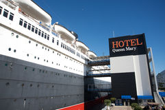 Hôtel Queen Mary Photographie stock