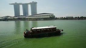 Hôtel Singapour de baie de Fullerton clips vidéos