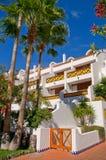 Hôtel sur la plage Photos libres de droits