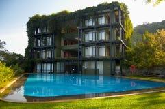 Hôtel tropical Image libre de droits