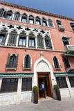 Hôtel Venezia de laine de bois de Danieli Images stock