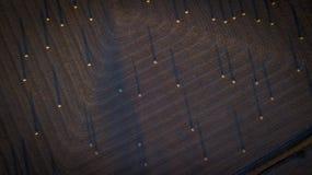 Höbaler i den sceniska kanten, Queensland, Australien Royaltyfria Bilder