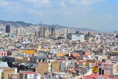 Höchst-Ansicht von Barcelona Stockfoto