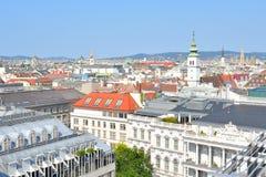 Höchst-Ansicht von Wien Stockbild