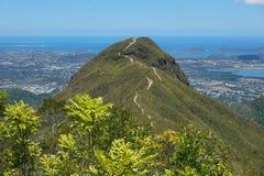 Höchst-Malaoui und Stadt von Noumea-Neukaledonien Lizenzfreie Stockfotos