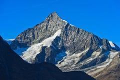 Höchst-Weisshorn Zermatt, Wallis, die Schweiz Stockfoto