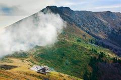 Höchst-Yumruka, Stara-planina Berg Lizenzfreies Stockfoto