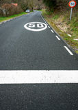 Höchstgeschwindigkeit 50 Kilometer/unser II Lizenzfreies Stockbild