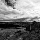 Höfält i Yorkshire Royaltyfri Fotografi