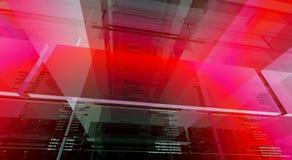 hög abstrakt bakgrund - tech Arkivbilder