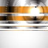hög abstrakt bakgrund - tech Royaltyfri Bild
