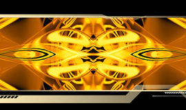 hög abstrakt bakgrund - tech Royaltyfria Foton
