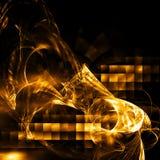 hög abstrakt fractal - tech Royaltyfria Foton