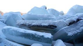 Hög av is fotografering för bildbyråer