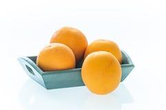 Hög av apelsiner Royaltyfria Bilder