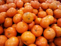 Hög av apelsinfrukt fotografering för bildbyråer