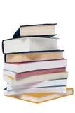 Hög av böcker Royaltyfria Foton