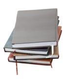 Hög av datebooks Royaltyfri Bild